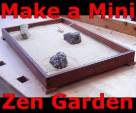 Make a Desktop Zen Garden (Japanese Rock Garden)