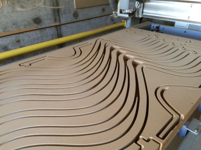 CNC-routing