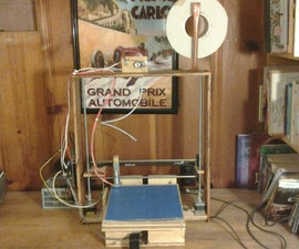 ScrapRap: $50 3D printer (Final product)