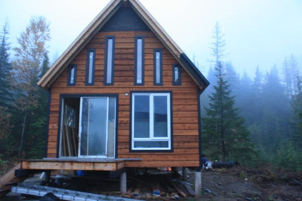 Picture of Just a Few of the Off Grid Cabins Built From My Designs
