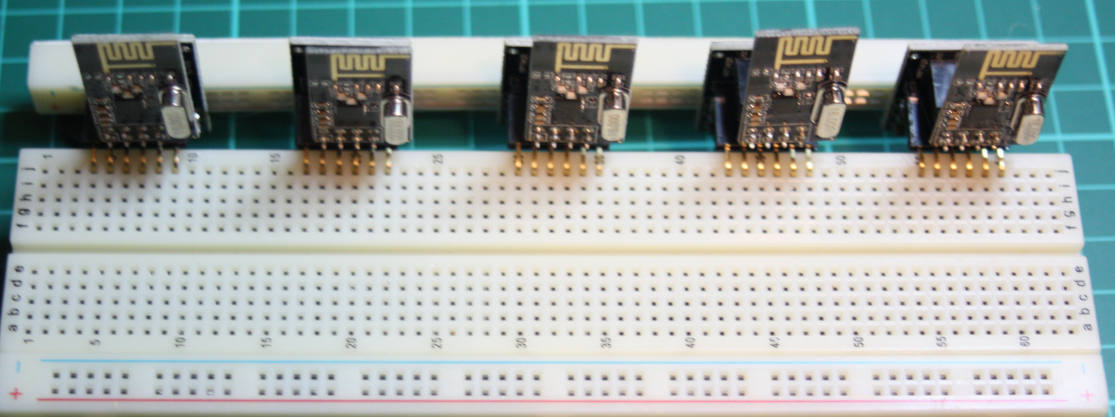 Picture of NRF24L01 Breakout Board Mod