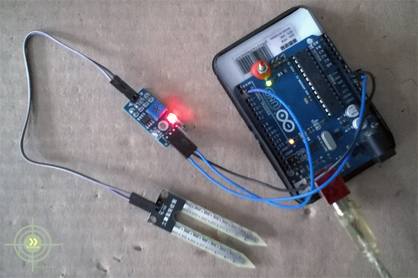 Picture of Smart Irrigation Project on Arduino
