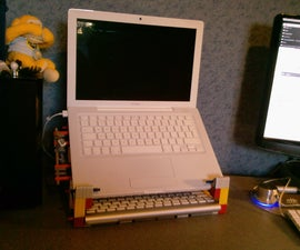 K'nex Laptop Macbook Uber Docking Stand