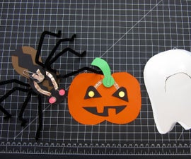 Halloween LED Paper Crafts