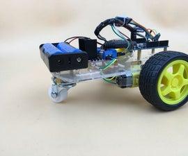 BLUECAR Bluetooth RC Arduino UNO+L298N+HC-06+Android apkTank SINONING