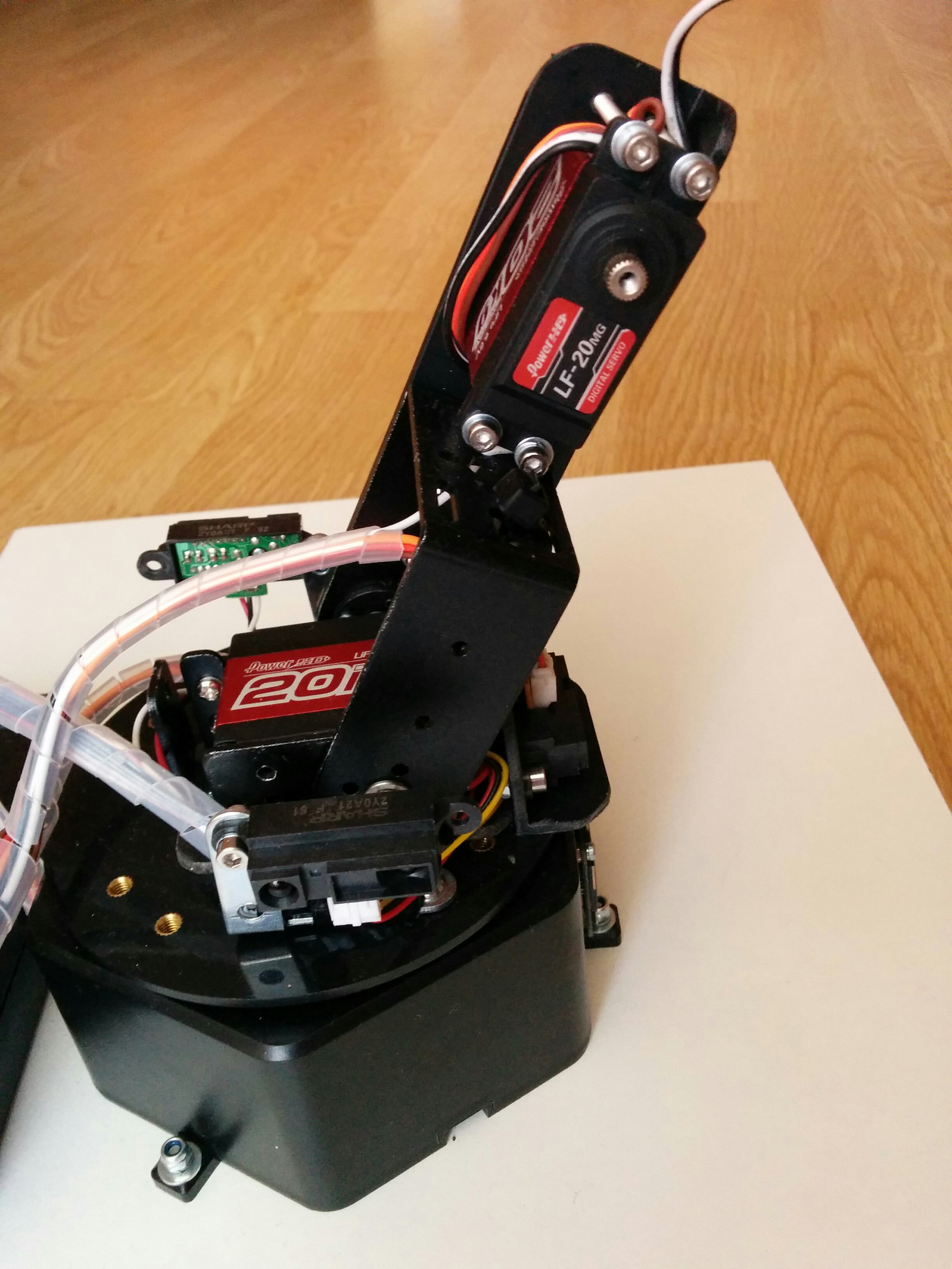 Picture of Assembling the Robotic Arm