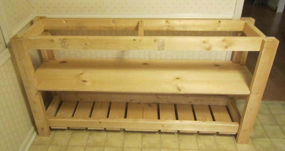 Picture of Adding More Boards on the Bottom Shelf