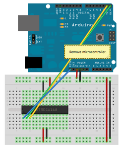 Using UNO As USB-to-TTL Serial