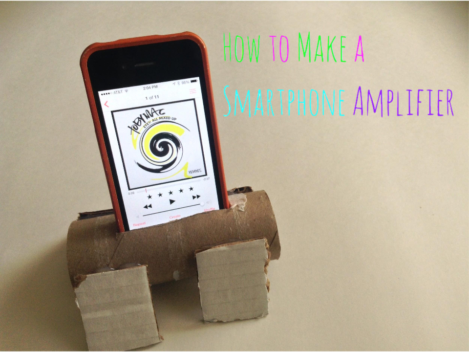 Picture of How to Make a Simple Smartphone Amplifier