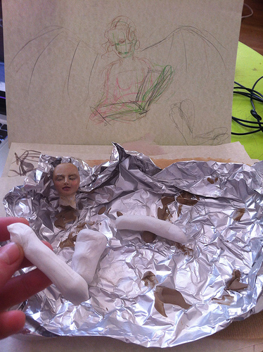 Picture of Sculpting the Figurine