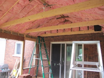 Insulation, Beams and Collar Ties
