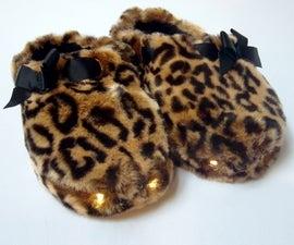 LED slippers