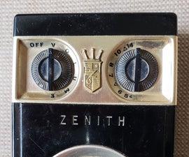 Bringing a 1955 Transistor Radio Back to Life