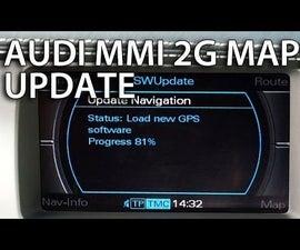 How to Update Maps in Audi MMI 2G (A4 A5 A6 A8 Q7)
