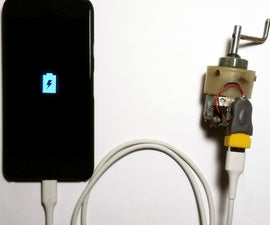 Emergency Mobile Charger Using Dynamo