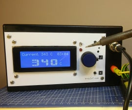 Soldering Station Using Inviot U1, an Arduino Compatible Board.