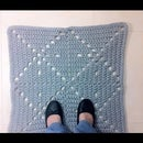 How to Crochet a T-Shirt Yarn Square Rug