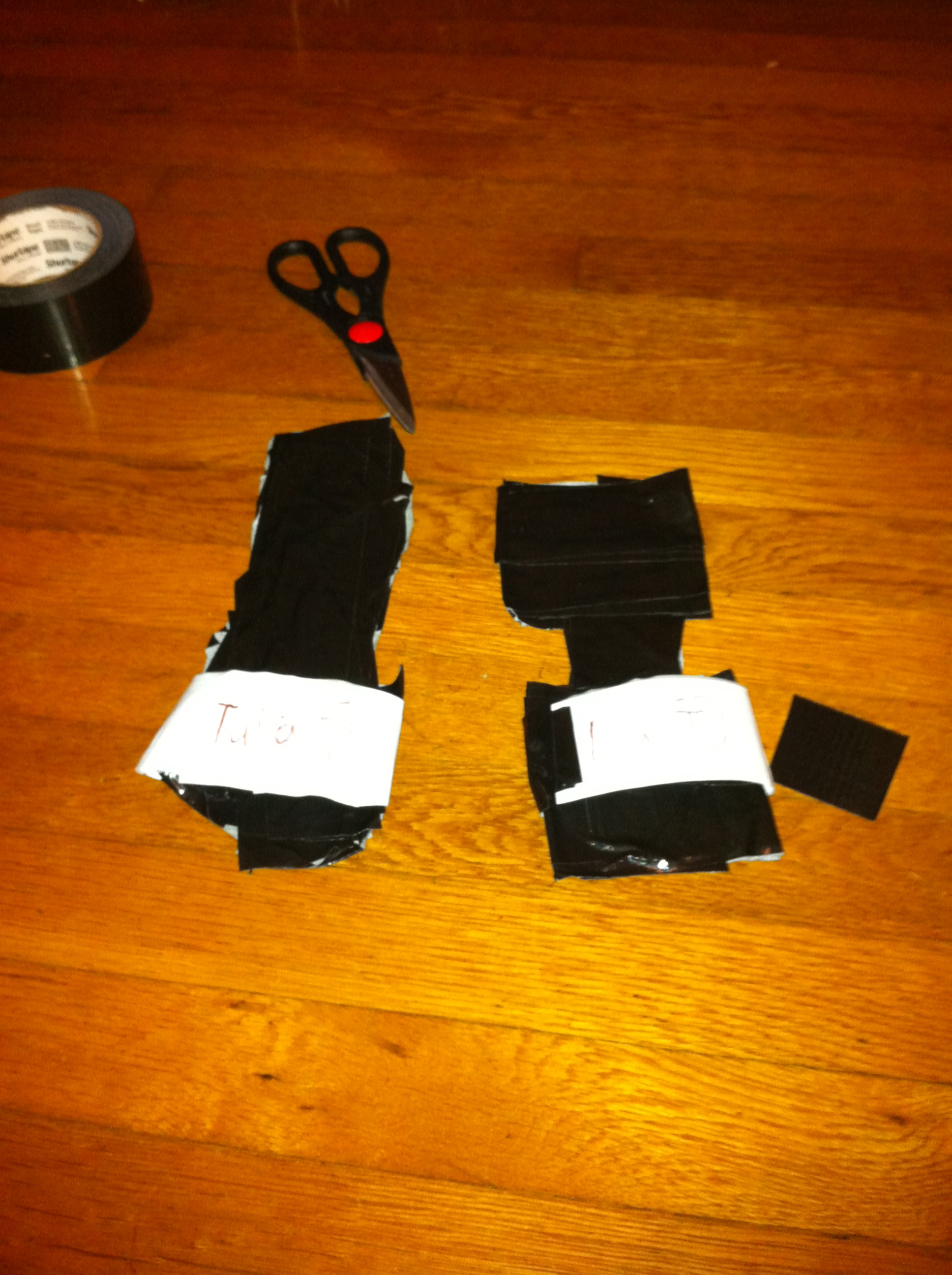 Picture of Duct Tape Flip Flops