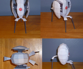 Portal Turret Papercraft Guide