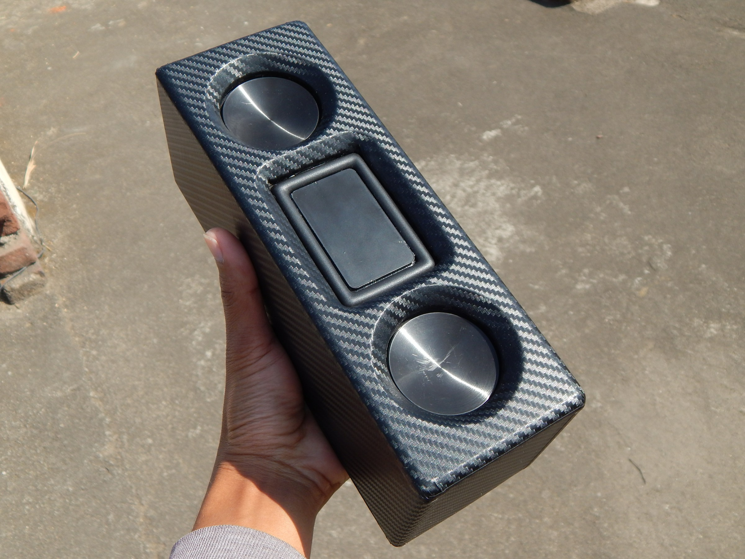 Picture of Carbon Bluetooth Speaker Build