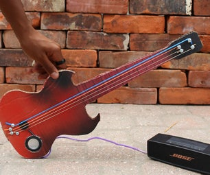 How to Make a DIY Electric Guitar for Under $10
