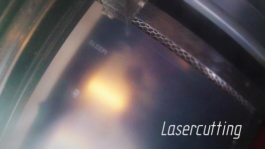 Lasercutting the Skeleton