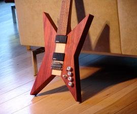Scratch Built Electric Guitar