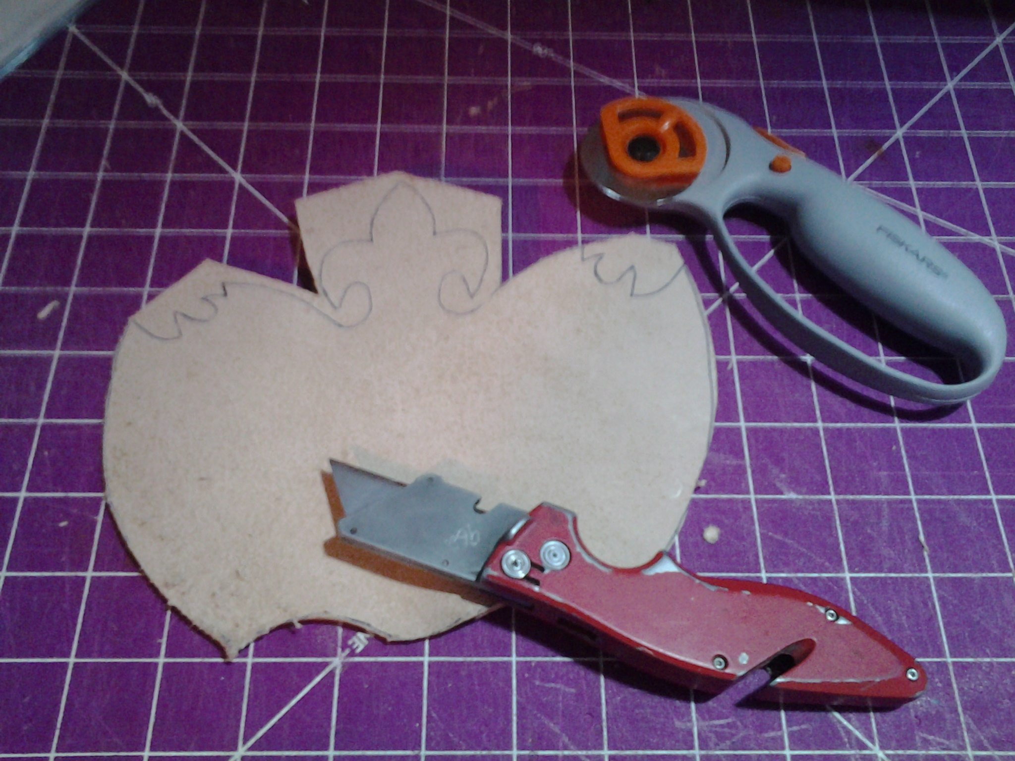 Picture of Cutting Leather