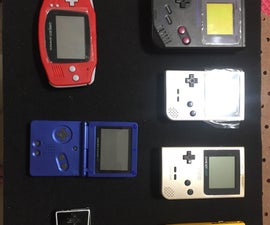 Shadowbox Your Gameboy Advance Up to Gameboy Micro Using Magnets