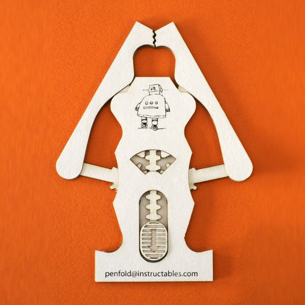 Robotic Claw Business Card