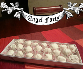 """""""Angel Farts"""" homemade Divinity Candy"""