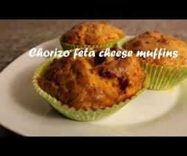 Chorizo Feta Cheese Muffins Recipe