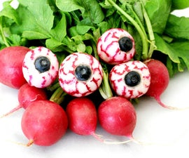 Spooky Edible Eyeballs