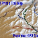 Make a 3d Print of Your Hike From a GPS Track
