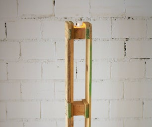 Candleholder Out of Palletwood