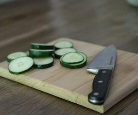 The Easiest Cutting Board You Will Ever Make