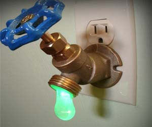 Picture of Faucet night light - water tap