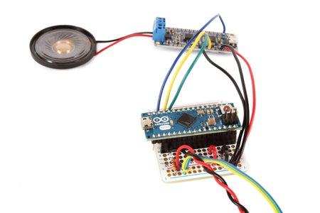 Plug in the Arduino