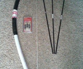 DIY PVC bow 75+ lb draw!