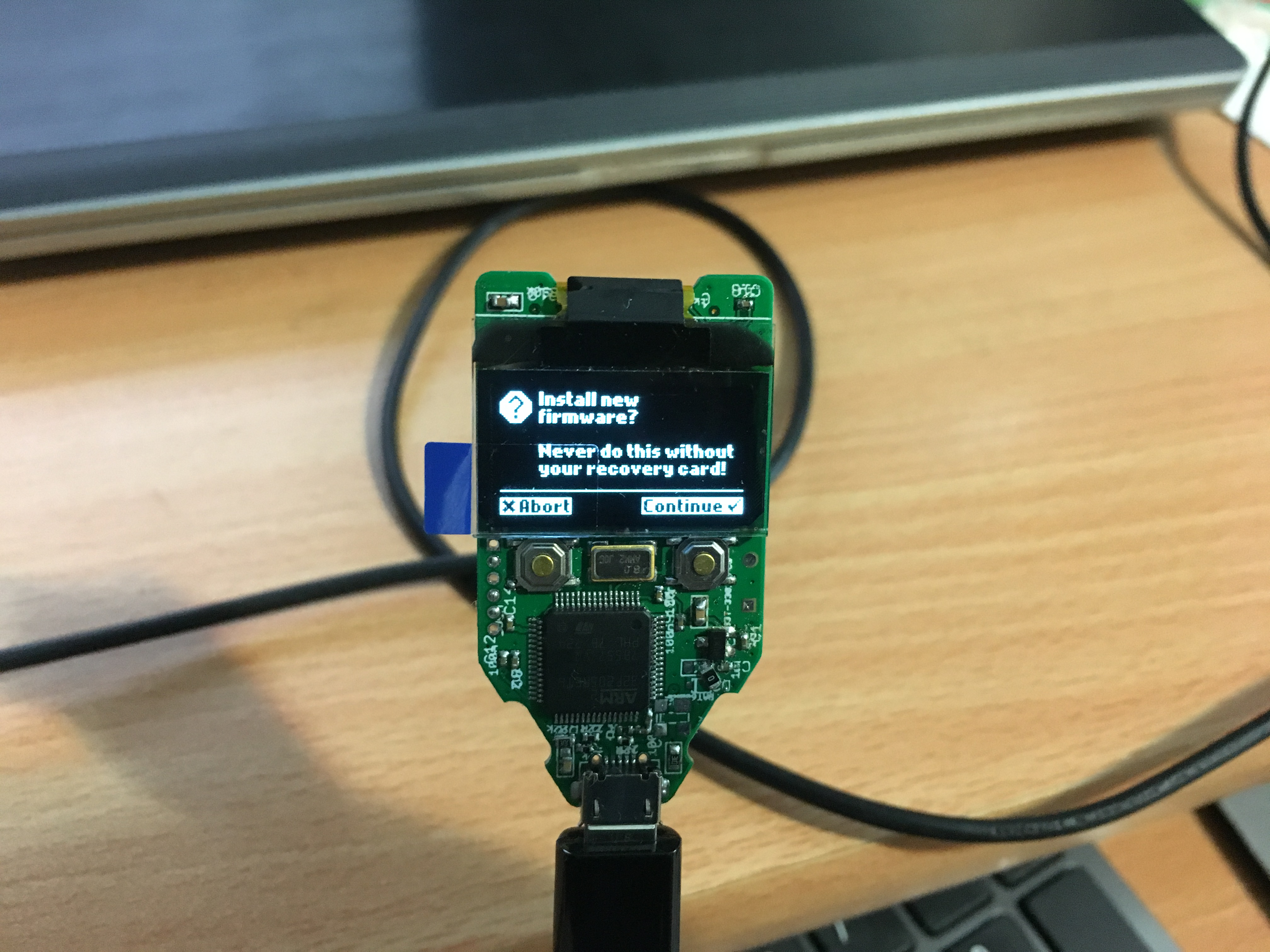 Picture of Testing and Configuring Your Trezor Wallet