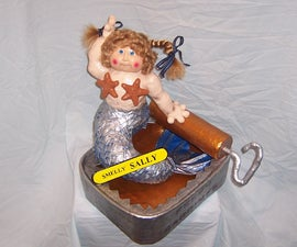 Garbage Pail Kids Sculpture (from old Cabbage Patch Doll)