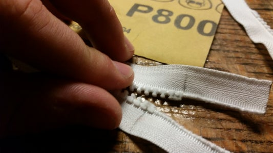 Shorten Seperating Zippers