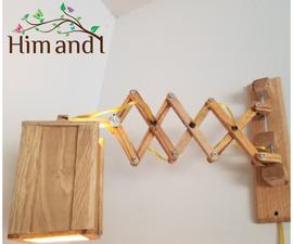 Scissor Lamp Designed Using Fusion 360