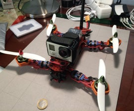 Easy to build 250 Quadcopter Drone.