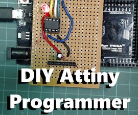 DIY Attiny Programming Shield