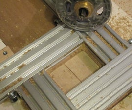 Adjustable Router Guide Template
