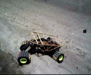 Home Made Rc Rock Crawler From Junk