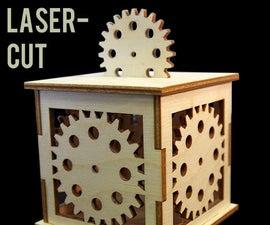 "Laser Cut Steampunk Lantern (2.75"")"