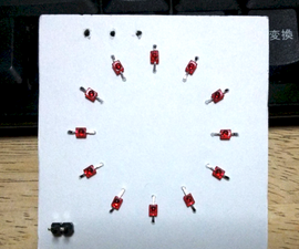 Make PCB Pattern of LEDs Arranged in A Circle