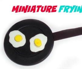 Miniature Frying Pan Diy